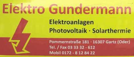 Elektro Gundermann